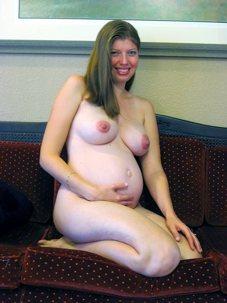 Naked very pregnant with twins — 8