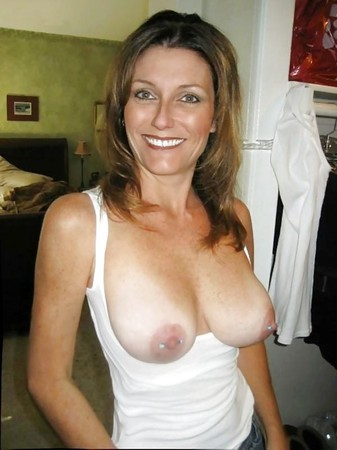 pierced Milf nipples