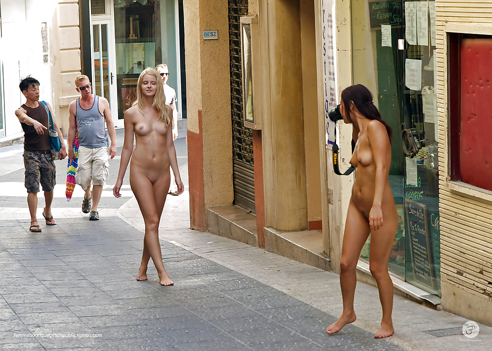 Nude black women naked in public