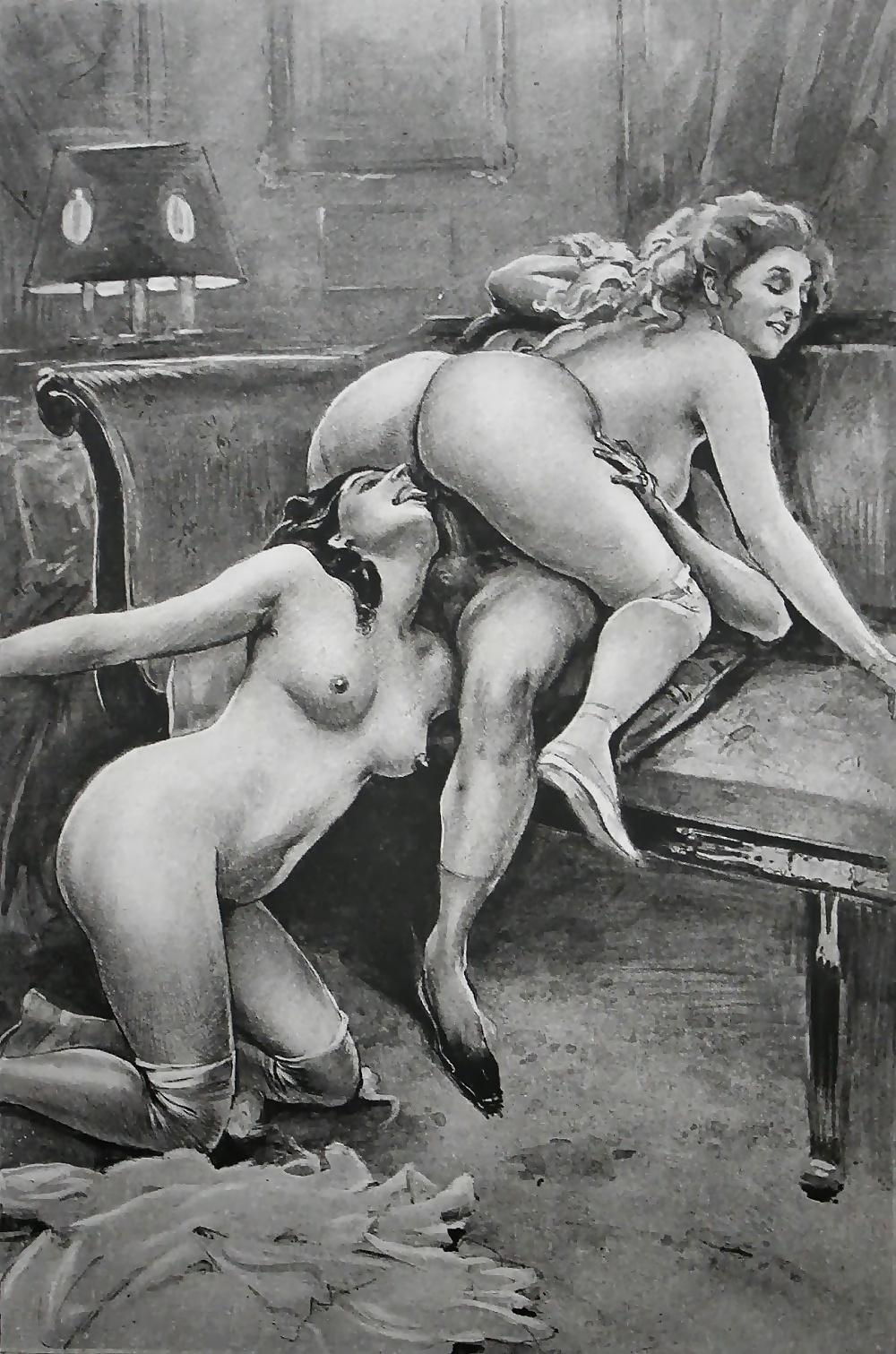 Видео старая эротика рисунки фото сапожках толстые