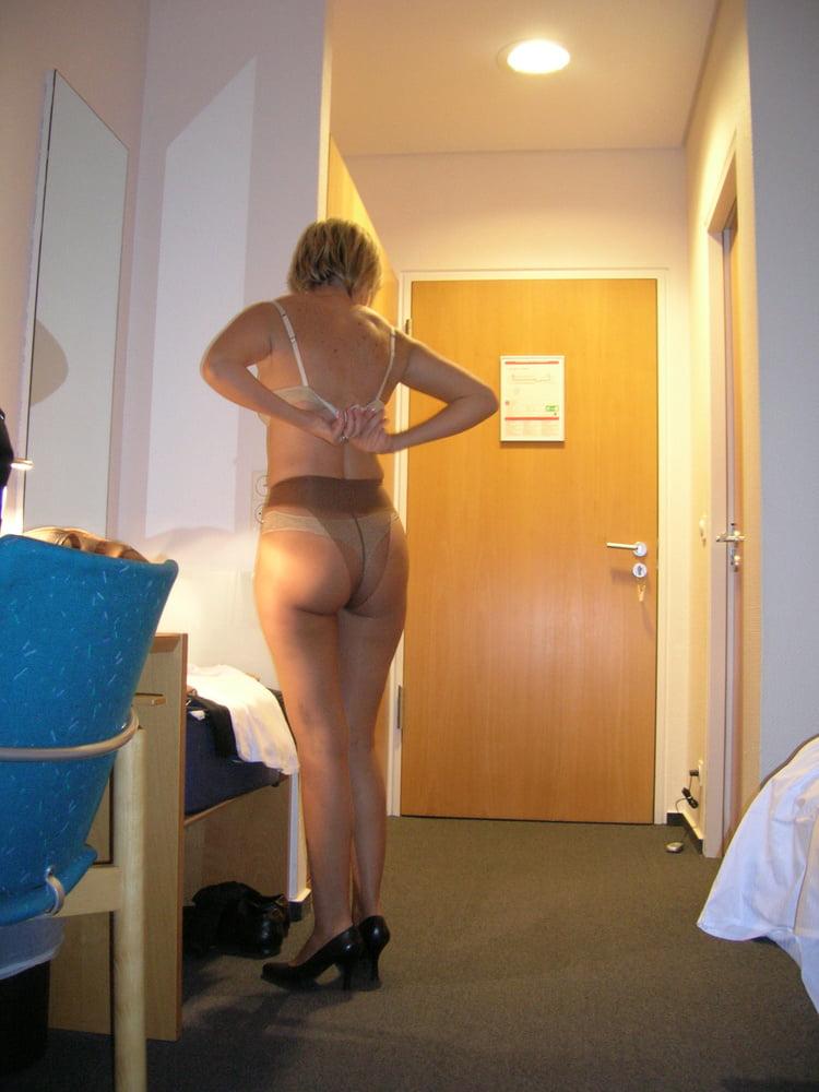 Megan in pantyhose