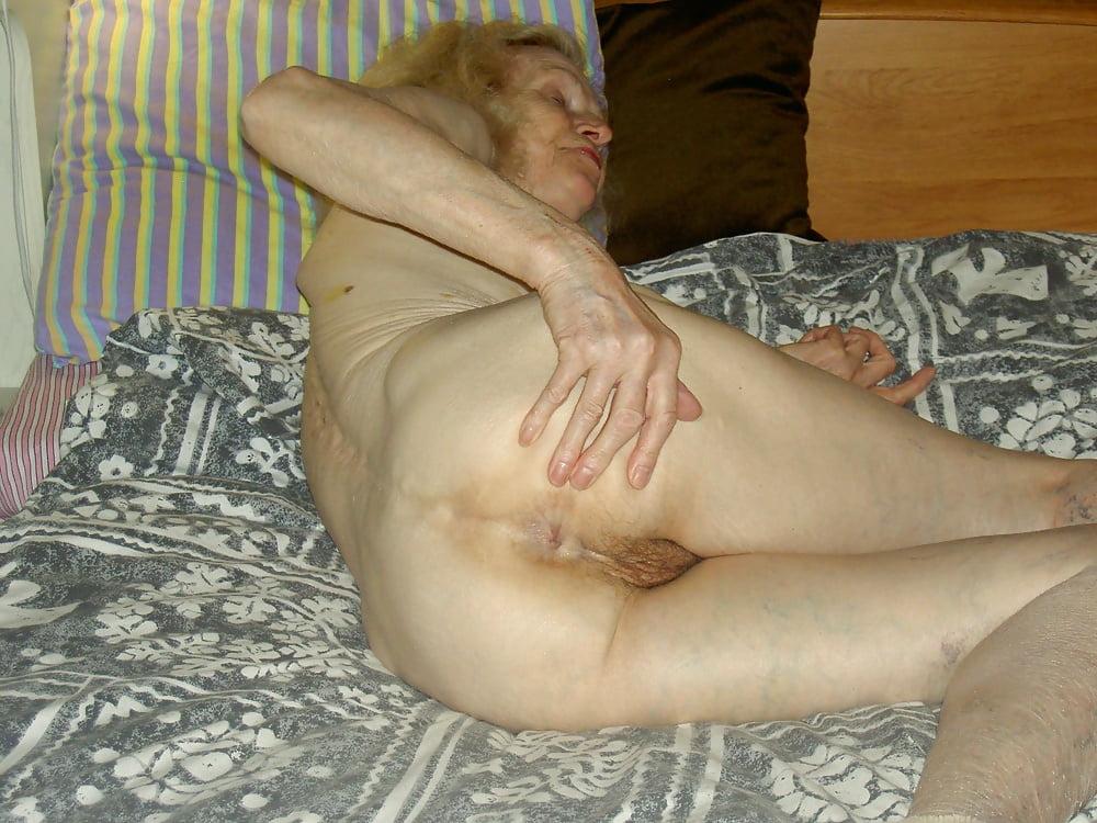 Thin Hairy Granny Katherin Enj 1