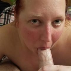 Girlfriend Sucking Cock