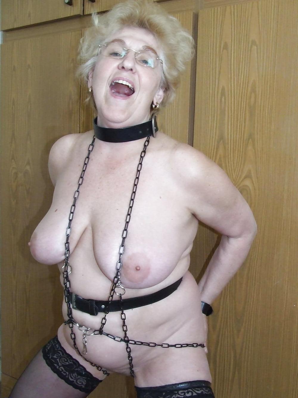 Granny bondage basement