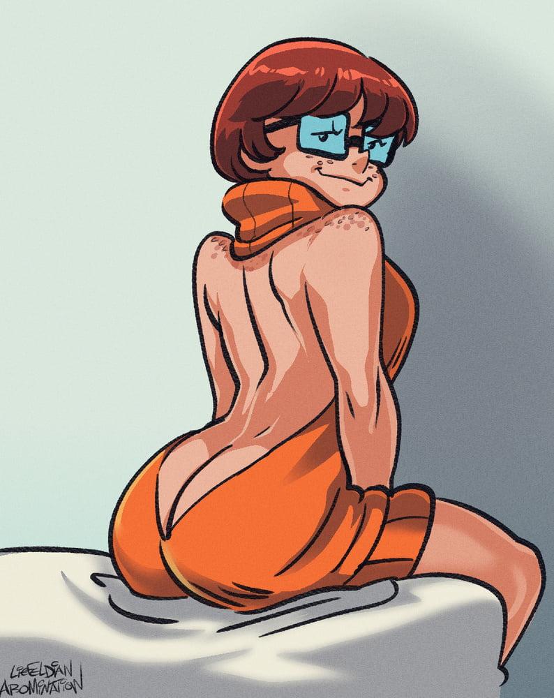Velma fucks fan art, chubby xxx ffm