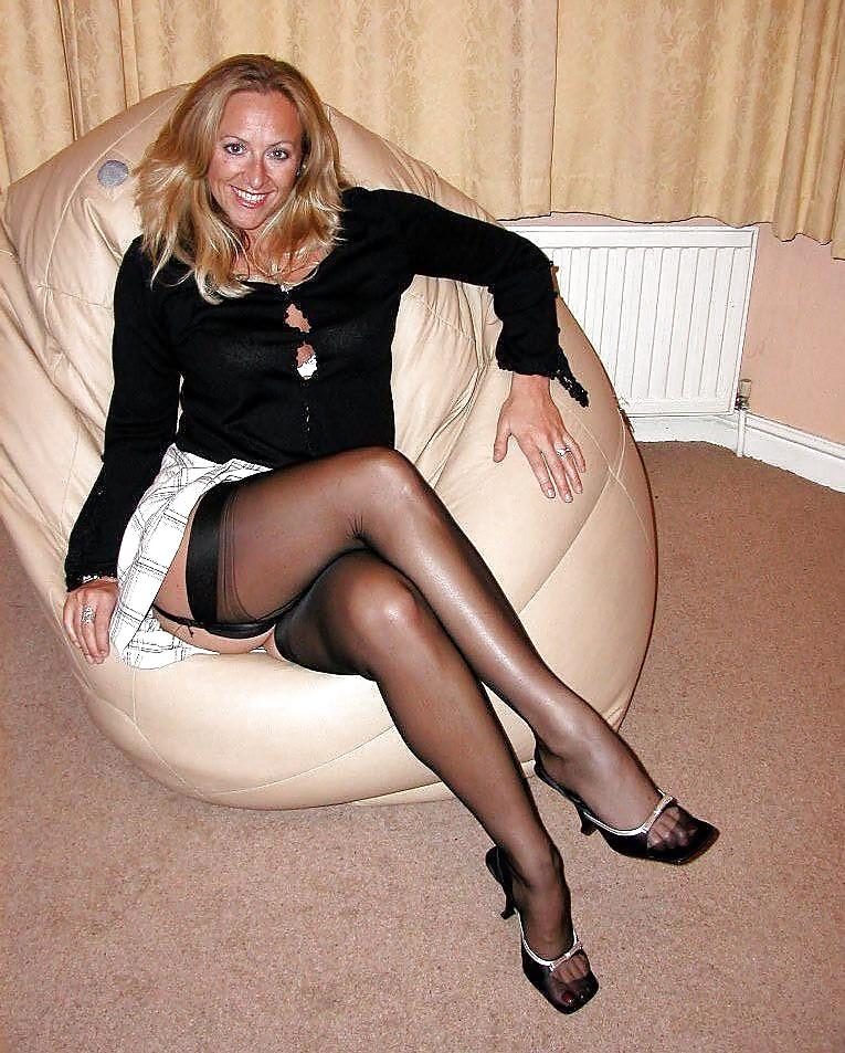 Mature wife nylon — 3