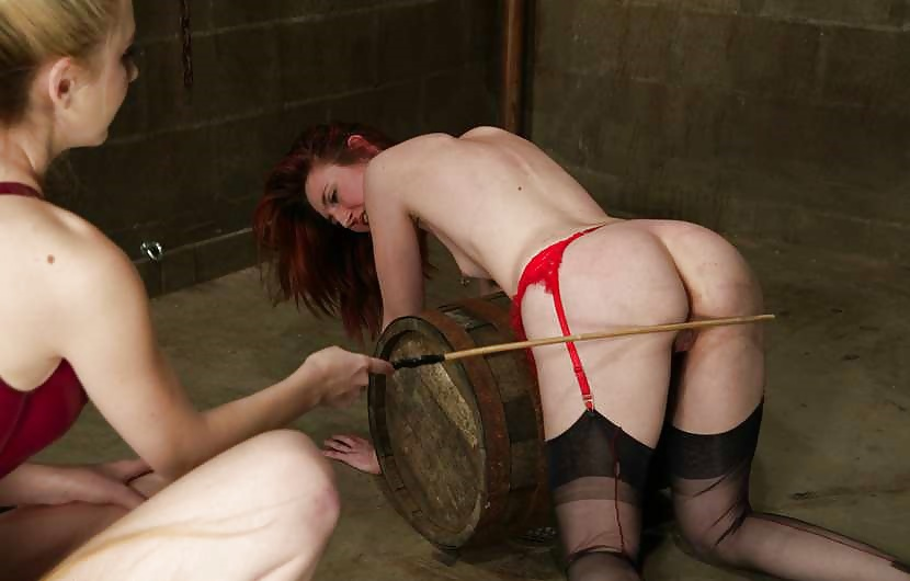 Two High Heeled Stocking Bdsmgirls Switching Spanking Each Other