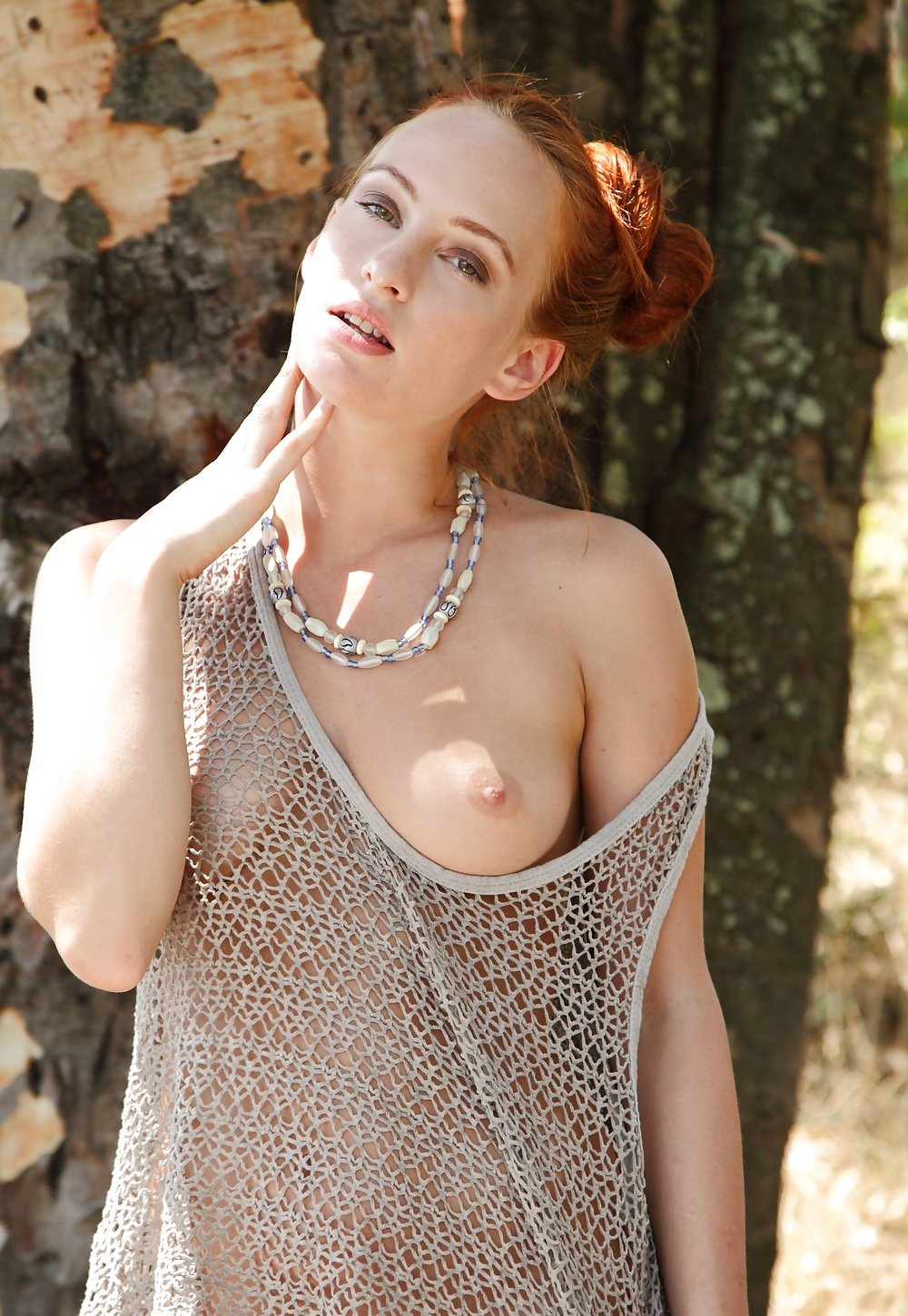 Sally naked redhaired