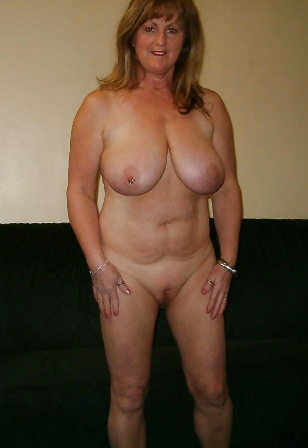 Busty brunette granny 03