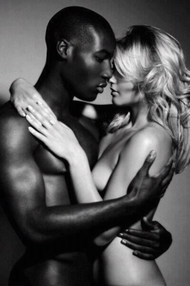 Black men and white women sexy — photo 14