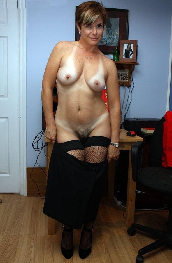 Mature nude tan lines-8750