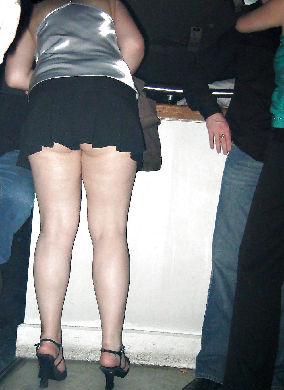 Fat wife in mini skirt in walmart, skinny nude girlfriend home