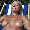 Mature milf loves the sun
