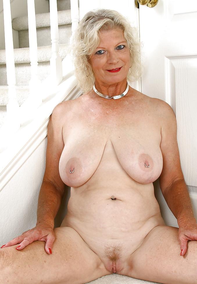 Naked mature grandma