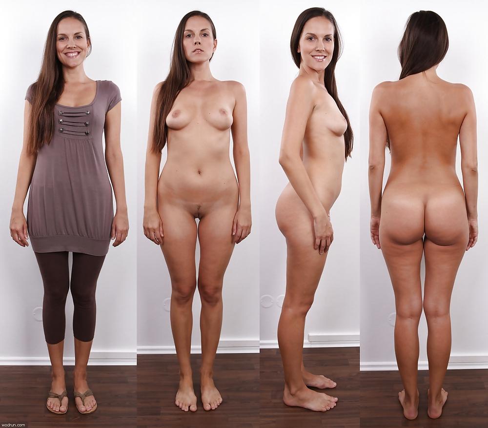 Dress up naked woman — photo 4