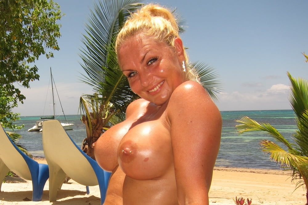 Nude cougar beach