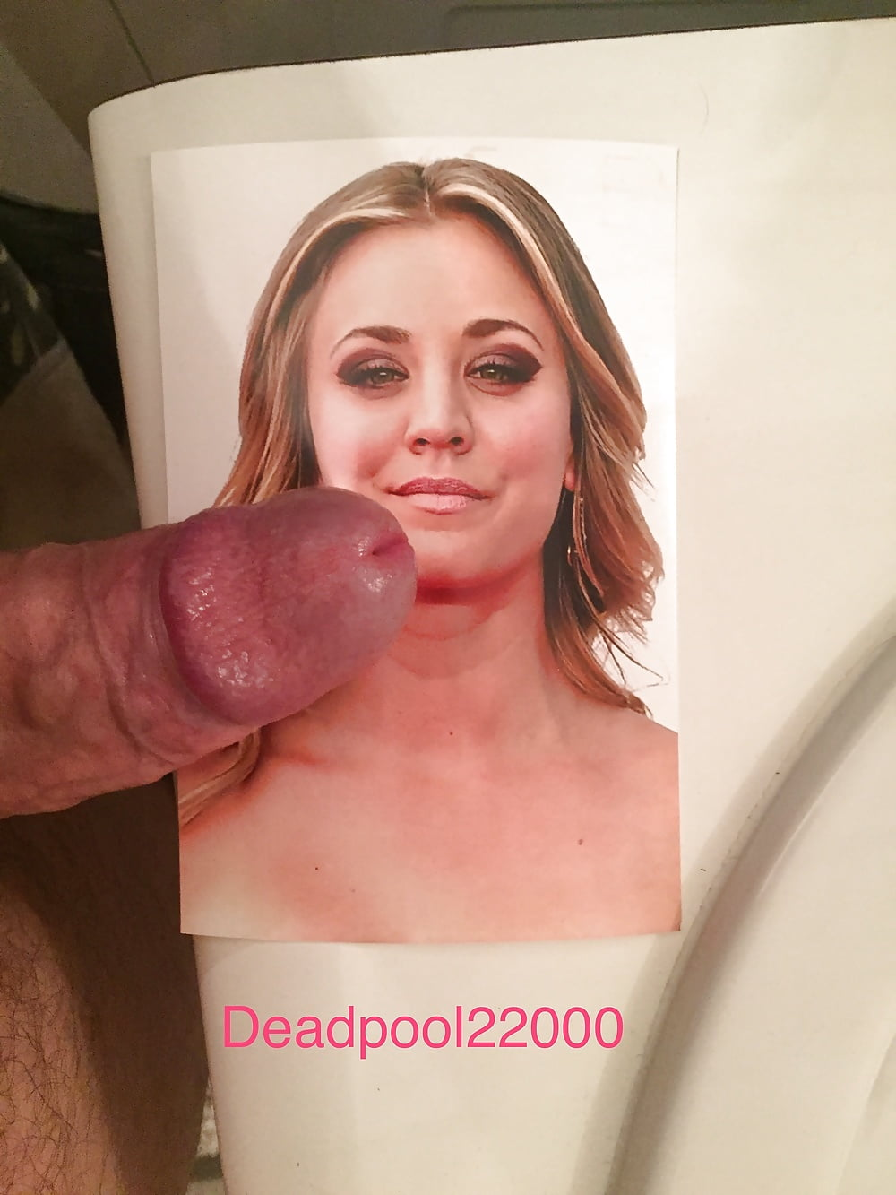 from Junior kaley cuoco cum on pics