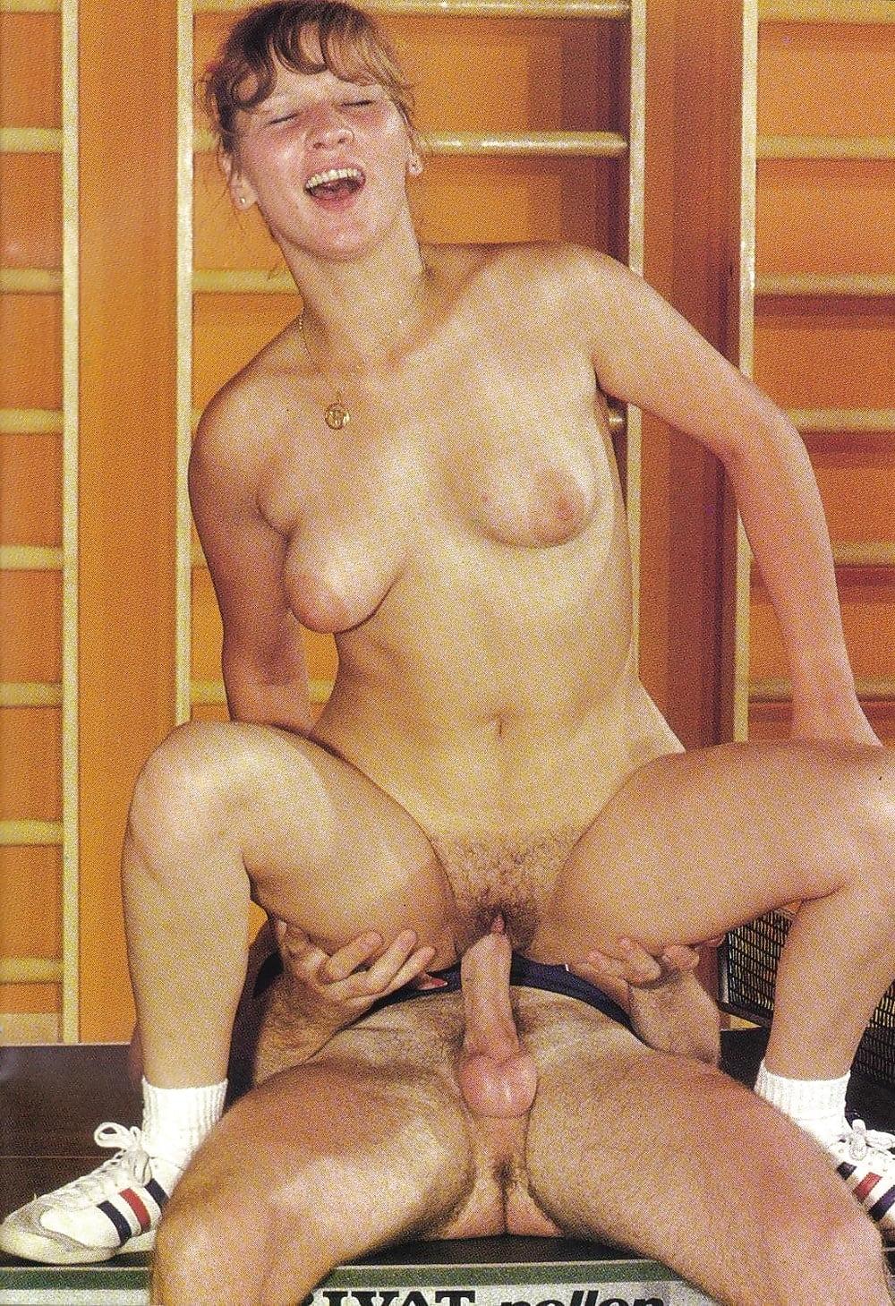 Спортзал ретро порно — pic 15
