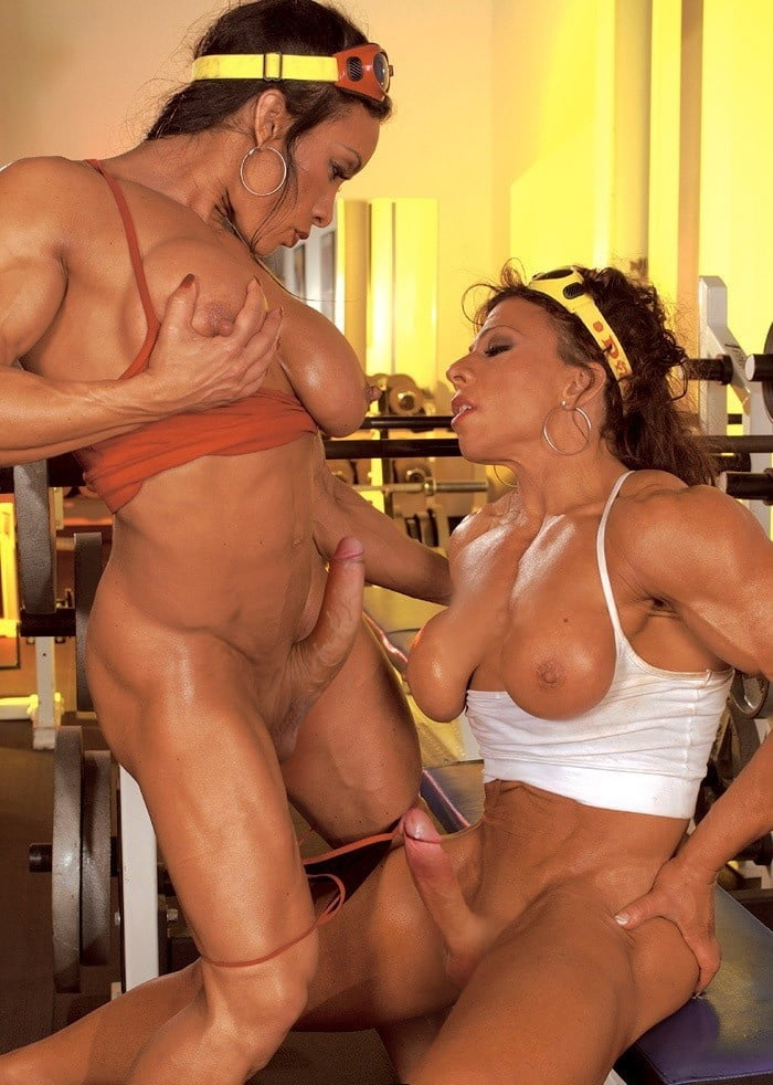 Bodybuilder Shemale
