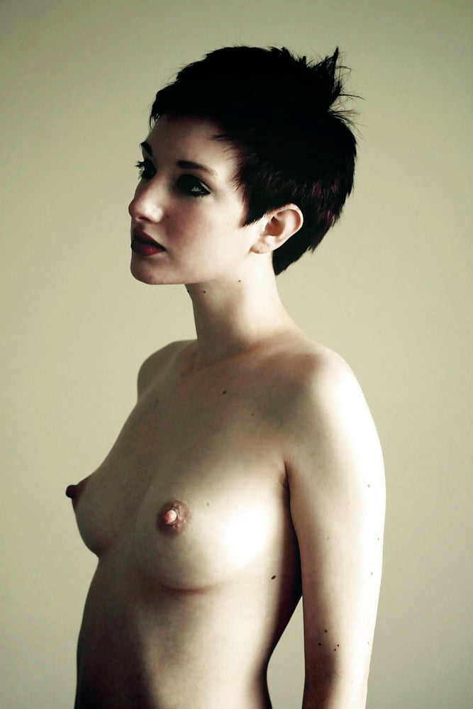 Undressing short hair porn