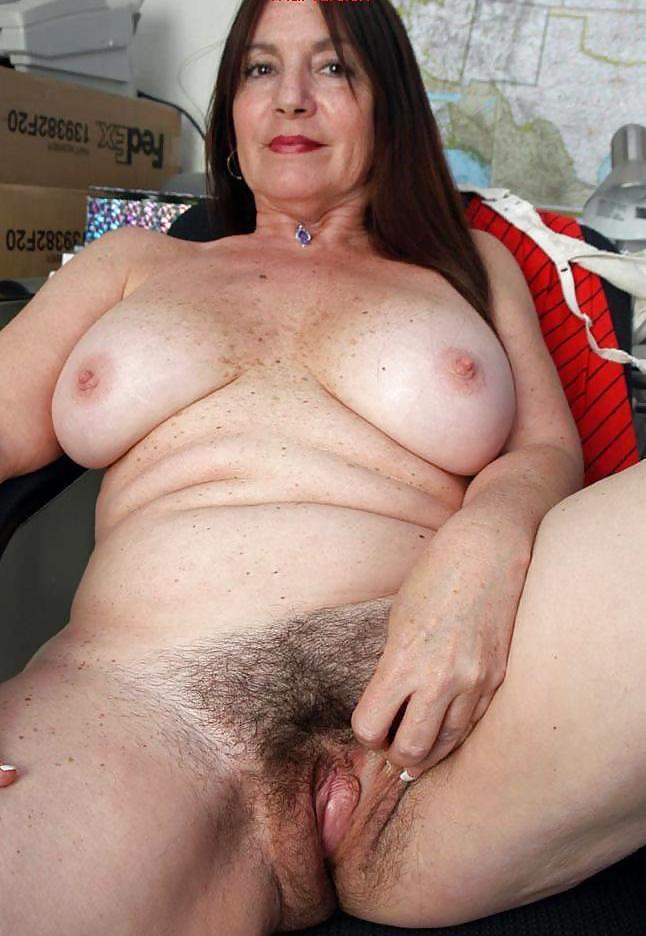 Nude mature pubic hair