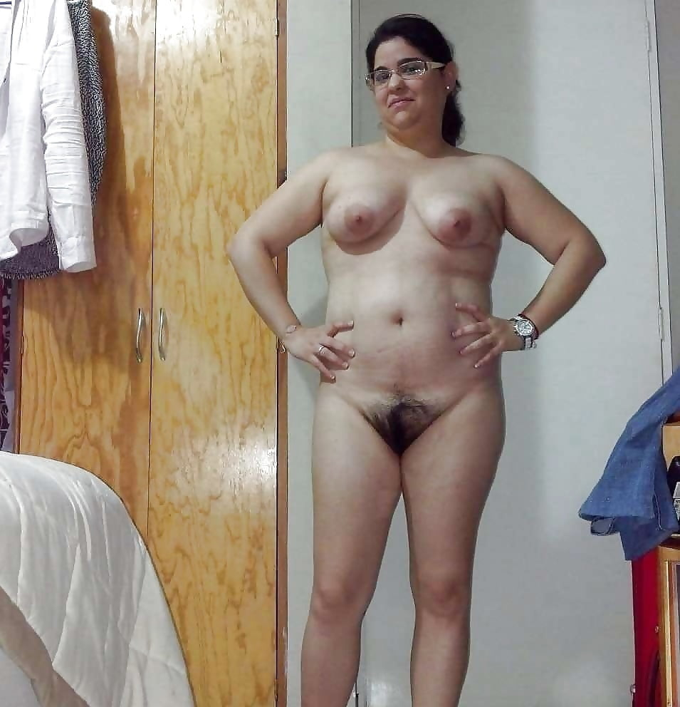 Naked hairy old ugly mature wife