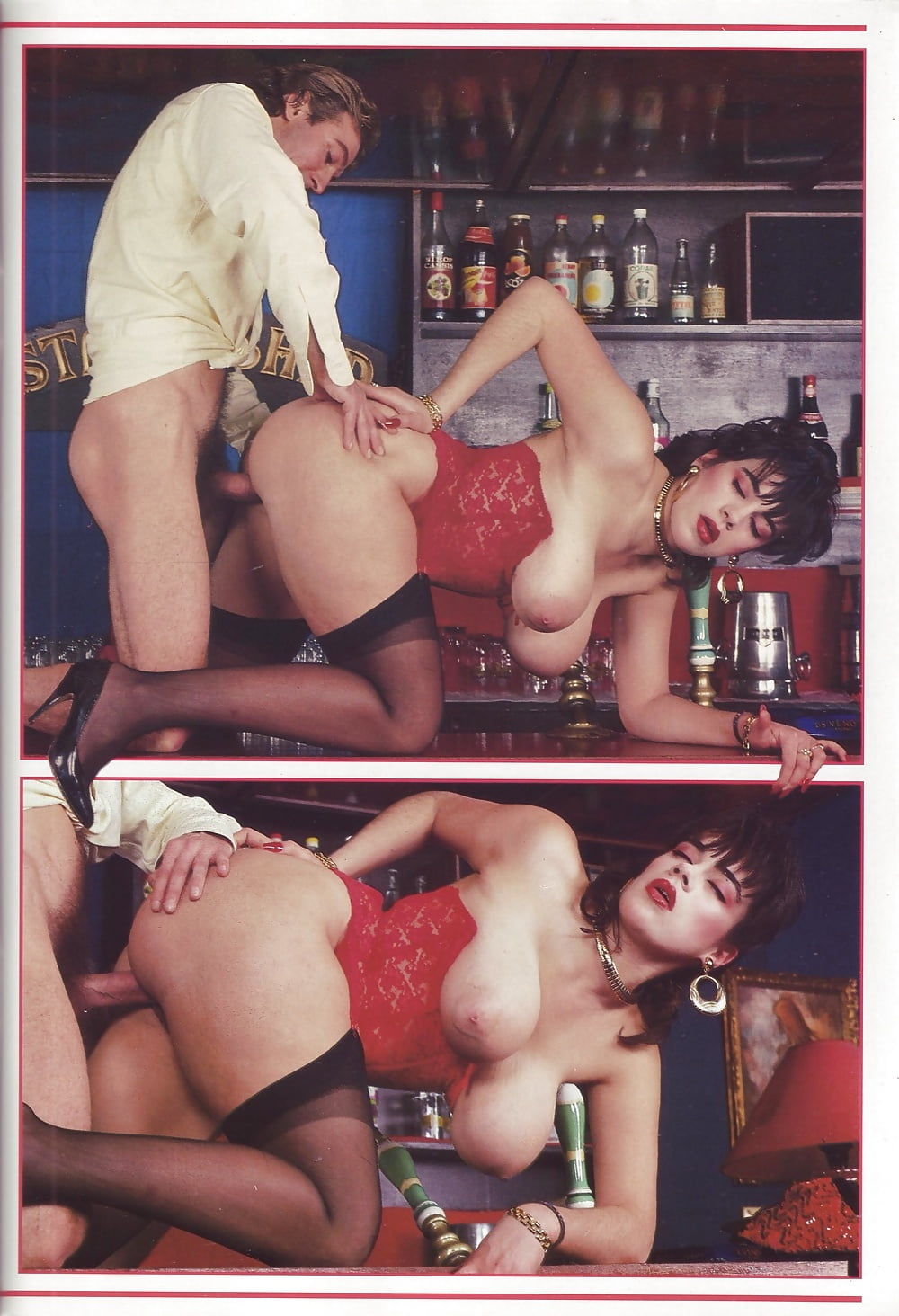 Немецкий групповой секс ретро в борделе