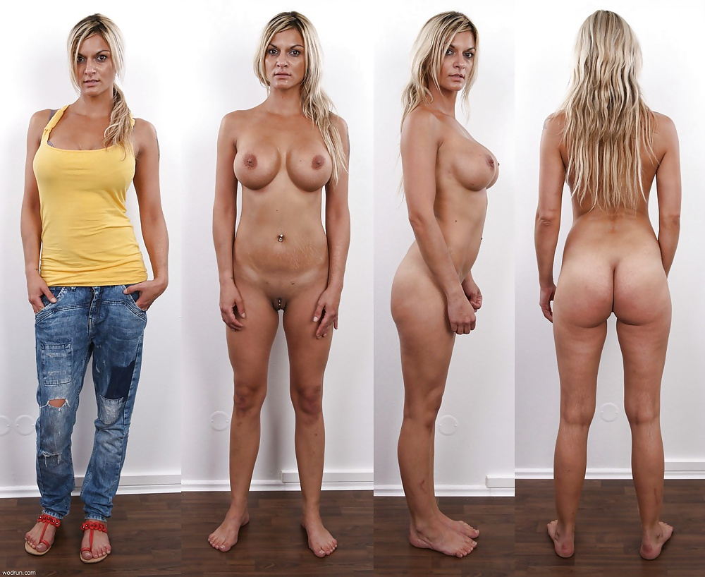 Clothes on and off nude women, sexy norwegian naked girl
