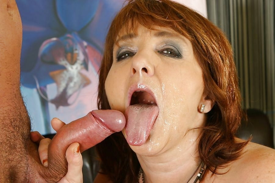Amateur blow and swallow