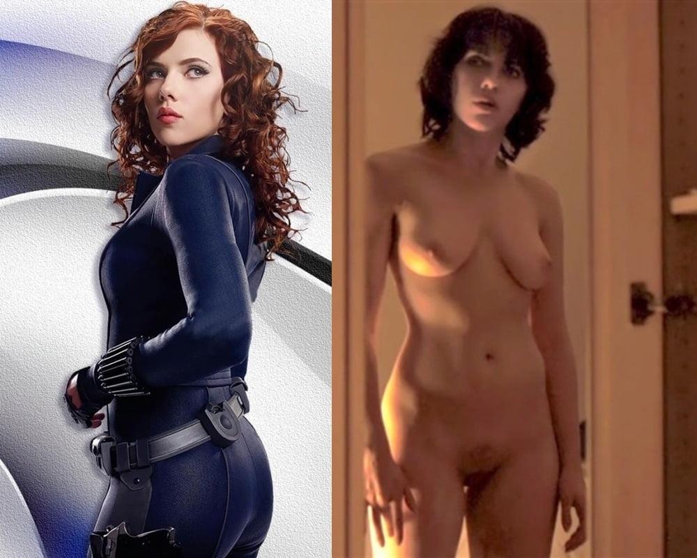 Sexy Scarlett Johansson Almost Nude