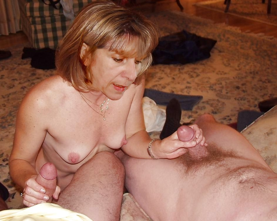 Naked mature handjob tumblr