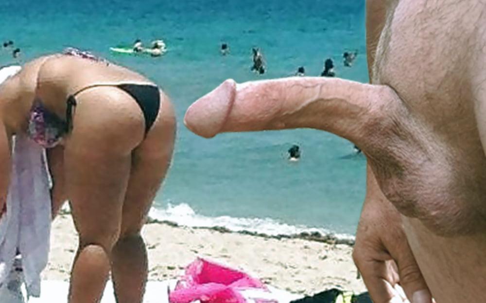 Big Dick Flashing Public