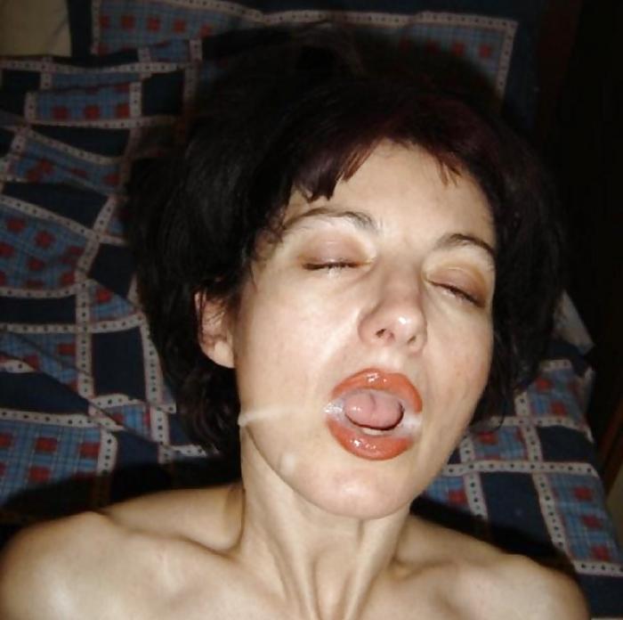 Частное фото зрелых женщин со спермой на лице, порно подсматривание в японии