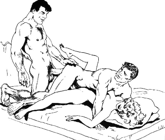 Bi sexual art — pic 12