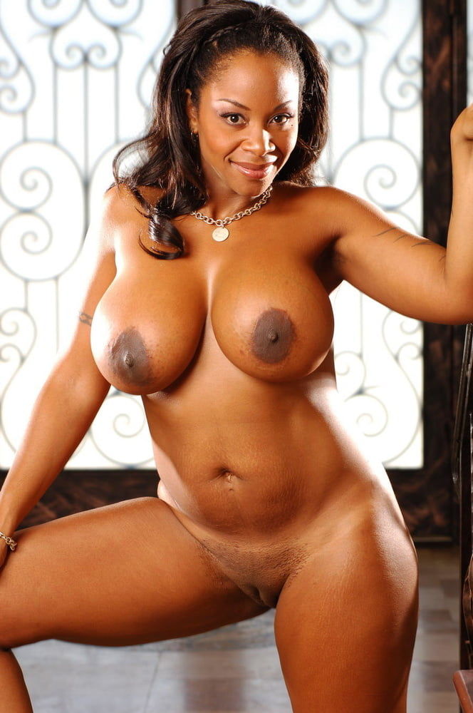 Black Milf In Sexy Uniform Exposes Giant Boobs And Ass