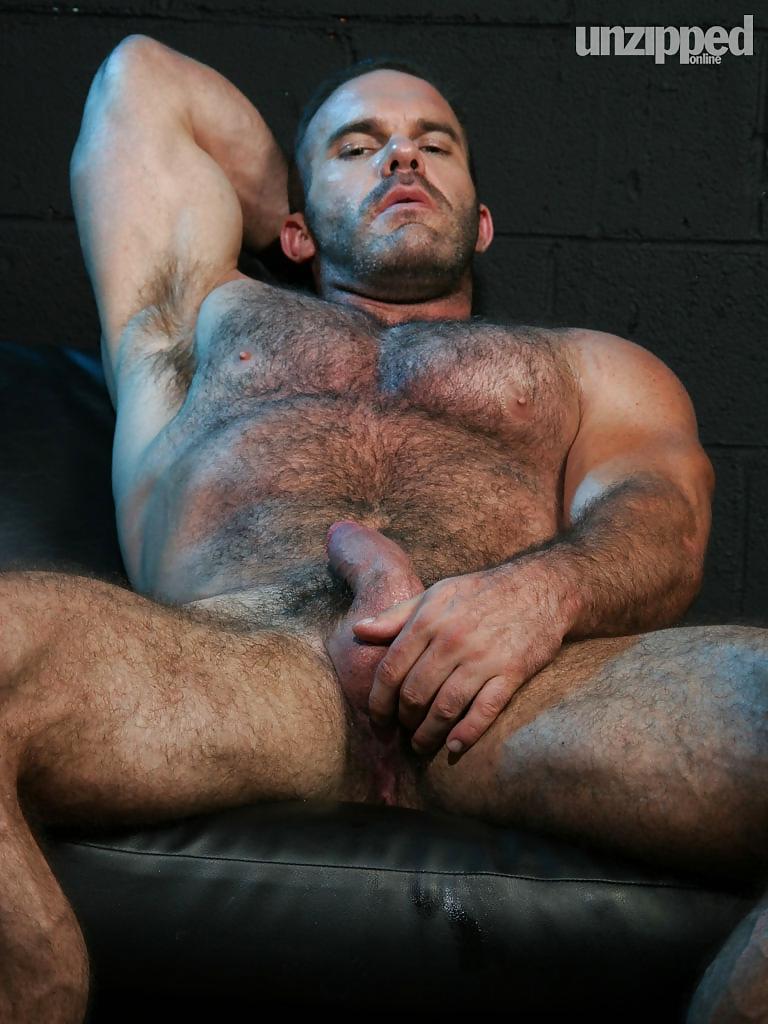 Hairy bear men tube