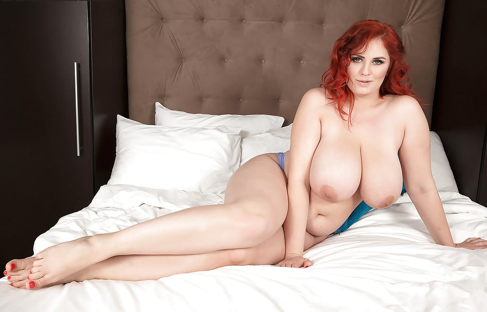 Huge mature redhead tit