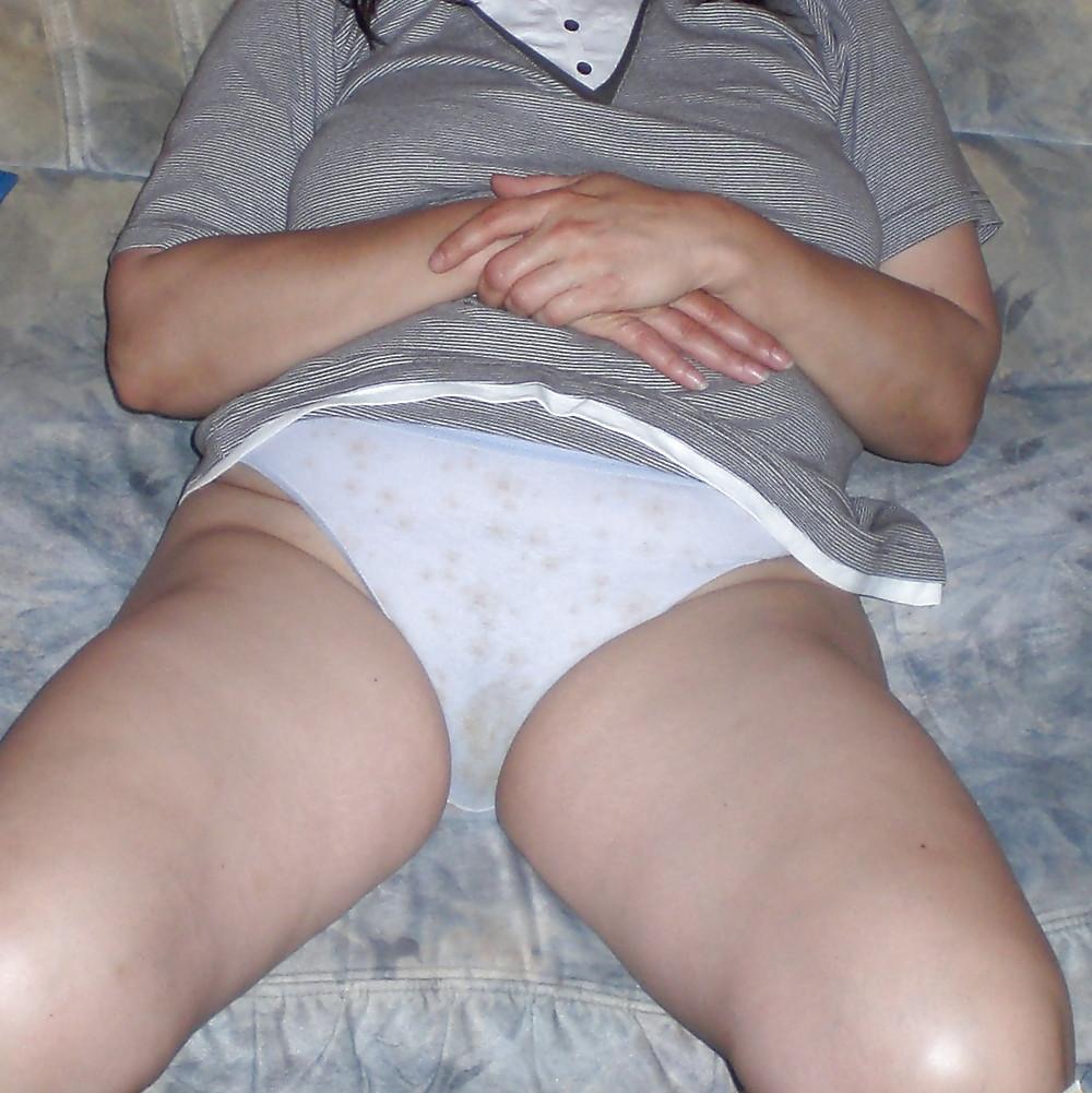 Aunties dirty panties