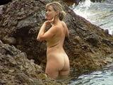 Blond Milf on the Fkk Beach