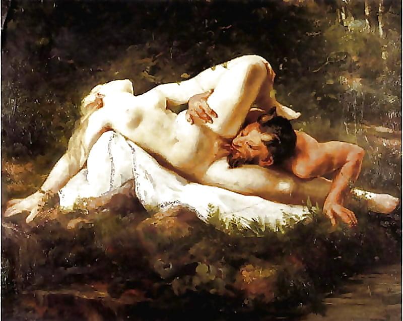в живописи эротика классической