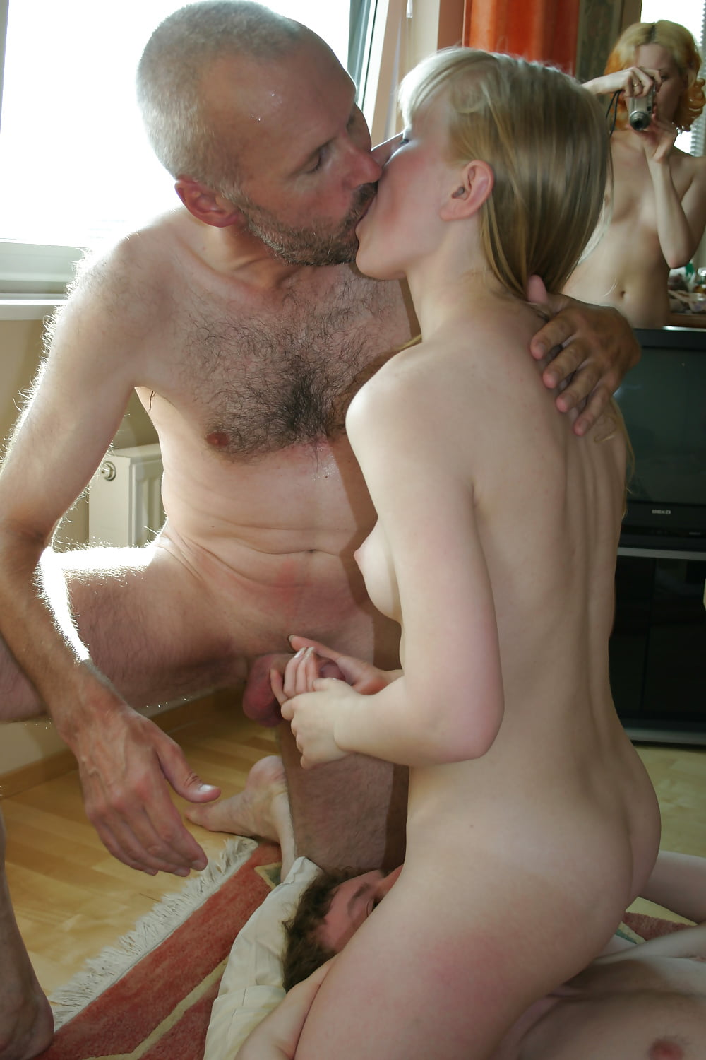 Hairy redhead nude daughters dads cum
