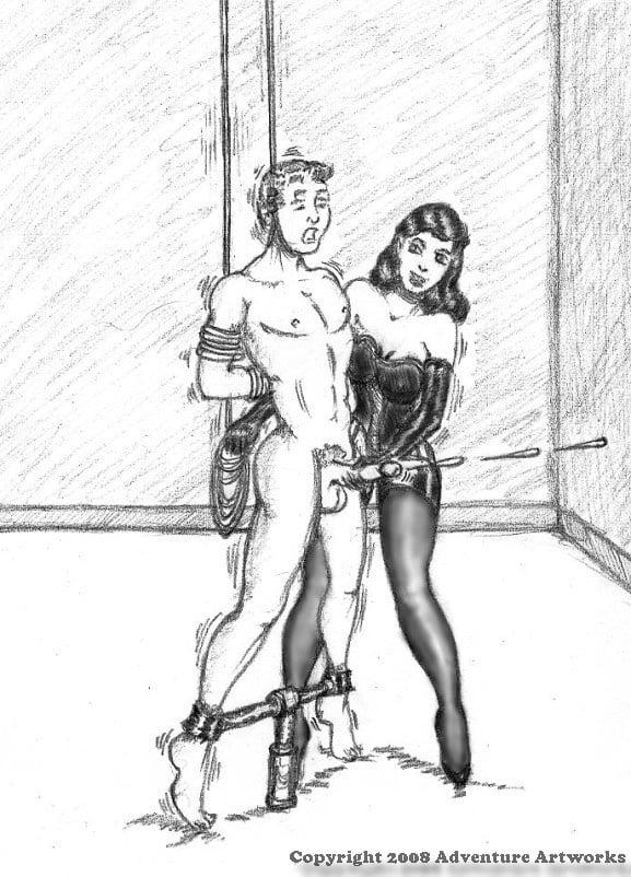 Draw femdom Femdom bondage