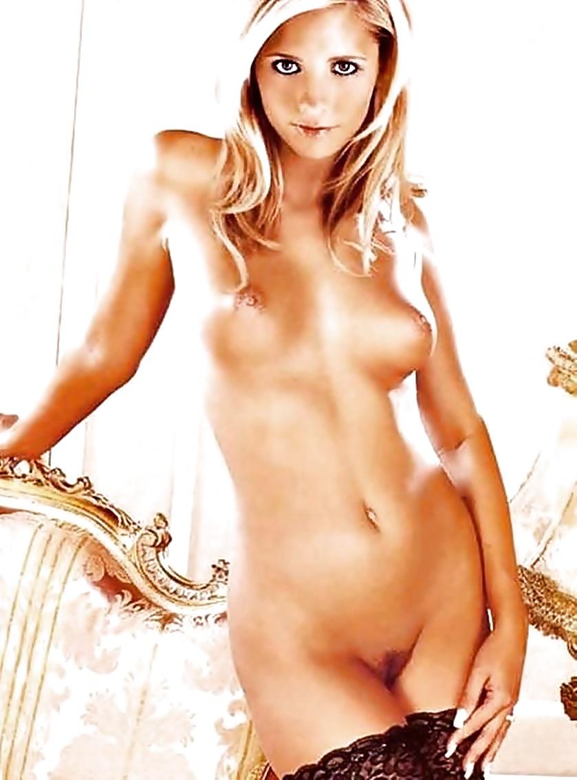 Gellar naked — photo 8