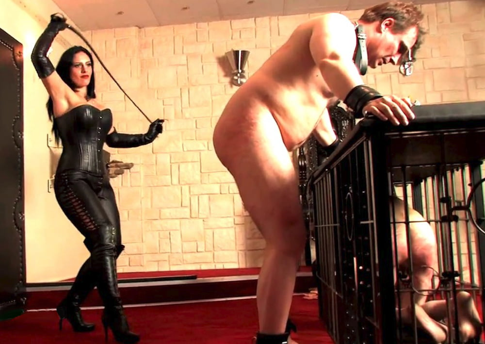 farm-girl-leather-strap-ass-whipping-pussy