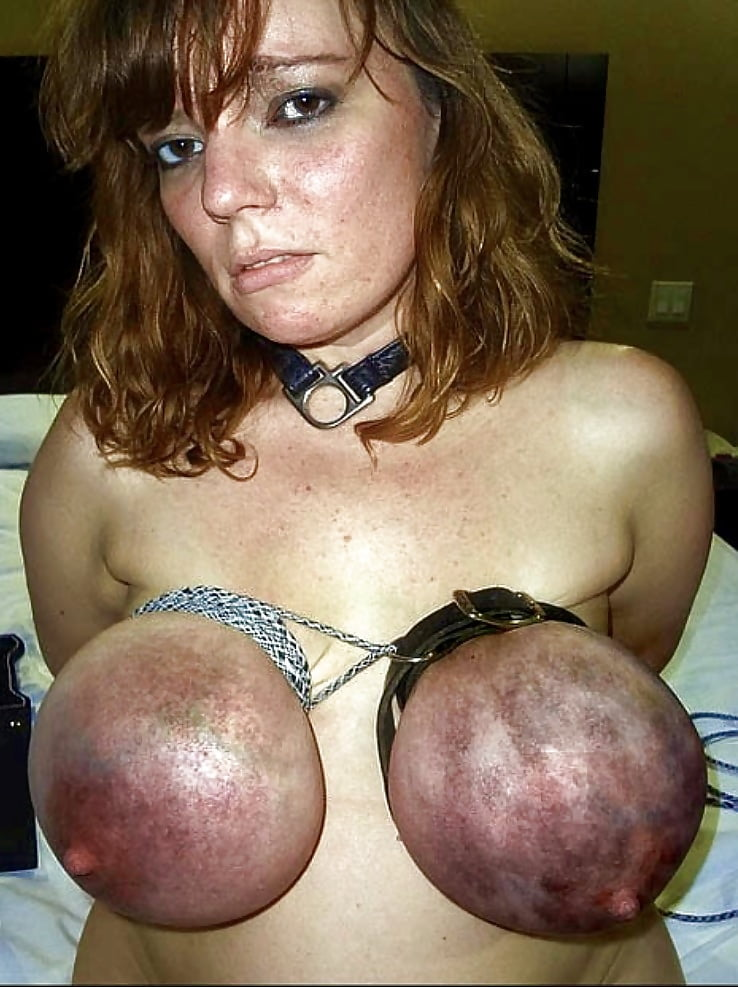 in pain Tits