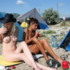 Smoking beach girls 12
