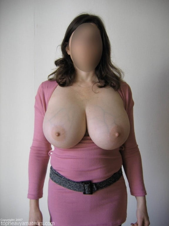 Skinny girl with huge natural tits-2037