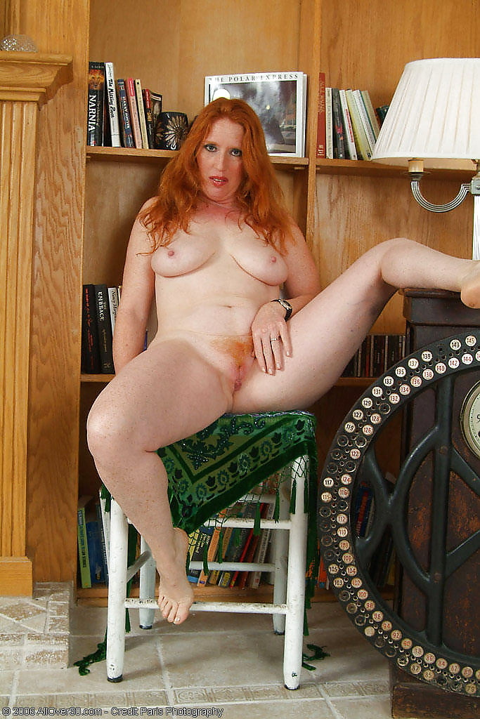 порно фото пожилых рыжих женщин мало