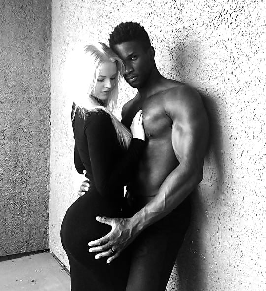 Black girl white guy porn pics