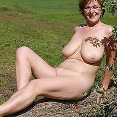 Naked Grannies & Matures Become Part Of The Landscape